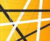 Orange Criss Cross