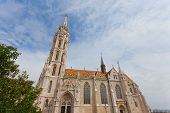 Matthias Church at Buda Castle in Budapest Hungary