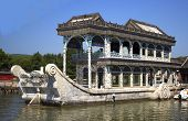 Marble ship at Summer Palace