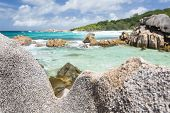 Granite Rocks, La Digue, Seychelles