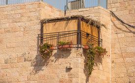 stock photo of sukkot  - the Jewish national religious holiday of Sukkot - JPG