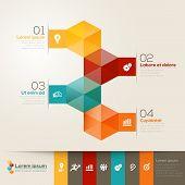 Isometric Shape Design Layout