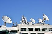 Satellite Communications Dishes