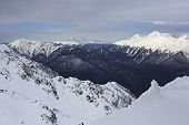 image of olympic mountains  - Beautiful snow - JPG