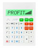 Calculator With Profit