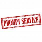 Prompt Service-stamp