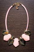 plastic necklace