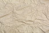 Brown Wrinkled Paper Textured