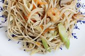 Fried noodle in chicness new year