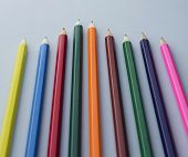 Wooden Colored Crayons