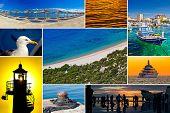 Mediterranean Coast Collage