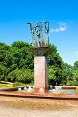 Lahti. Finland. Maidens of Laune Fountain