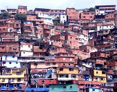 Urban shacks, Caracas