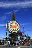 People Visit Fishermans Wharf In San Francisco