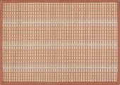 picture of taupe  - Red natural reed placemat texture or background - JPG