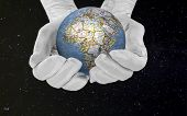 image of take responsibility  - You have to take care and protect our world - JPG