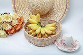 Fresh Baby bananas