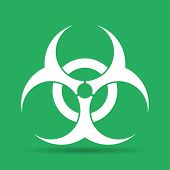 image of hazardous  - Bio hazard icon  - JPG