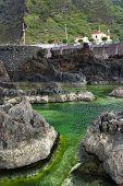 pic of volcanic  - Swimming natural pools of volcanic lava in Porto Moniz - JPG