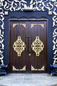 Traditional Malay House Doors