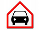Car Traffic Sign