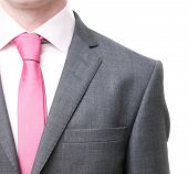 pic of traditional attire  - A business man in a suit - JPG