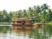 Through the backwaters of Kerala, India
