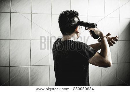 The Prisoner Man With Gun