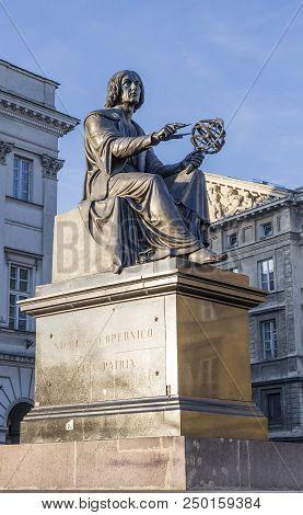 Monument To Nicholas Copernicus In