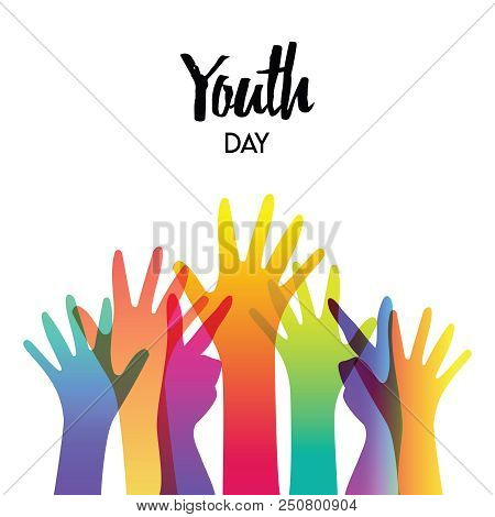 Happy Youth Day Greeting Card