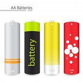 Vector AA batteries