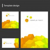 vector template design