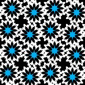 Seamless pattern. Flowers. Vector.