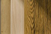 Background Of Panels Of Different Colors, Panels Of Wood poster