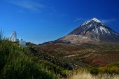 Obsevatory And Teide