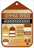 price tag - collection - vector!