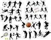 Постер, плакат: Спортивные элементы