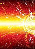 vector file of Explosion infinity space background
