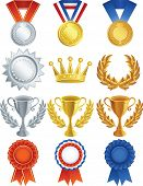 Vektor-Illustration - Awards-Icon-set