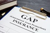 Gap Insurance Guaranteed Asset Protection Policy And Pen. poster