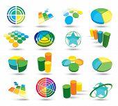 Colour web icons