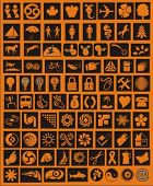 vector design elements, symbols, logos