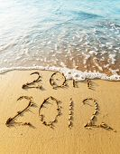 image of new years  - New Year 2012 is coming concept  - JPG