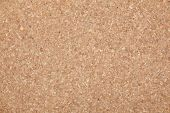 Background texture of cork board .