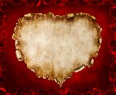image of valentines day card  - Heart - JPG