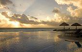 Paradise At Sunrise