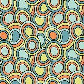 Retro Oval Pattern
