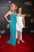 LAS VEGAS - JUN 19:  Liza Huber, Susan Lucci arriving at the 38th Daytime Emmy Awards at Hilton Hote