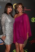 LAS VEGAS - JUN 19:  Crystal Chappell, Hillary B. Smith arriving at the  38th Daytime Emmy Awards at