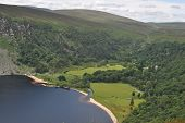 Lough Tay in Wicklow Ireland